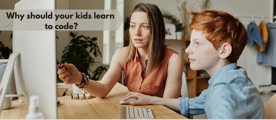 Why Should Your Kids Learn Coding?